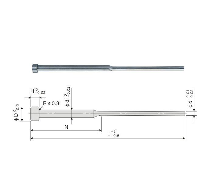 Pin eyector de hombro SKD-61