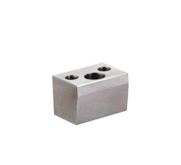 Bloques de bloqueo con orificio para pasadores angulares