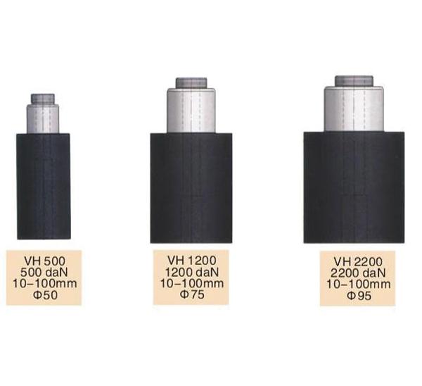 Serie de resortes de gas de nitrógeno hueco